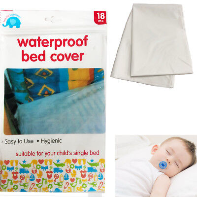 Child Bed Cover Waterproof Baby Single Bed Cot Hygienic Sheet Wetting Proof Mat