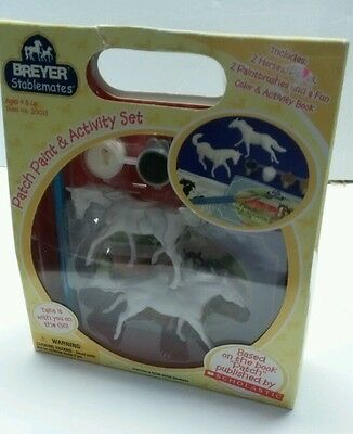Breyer Stablemate Horse Set #20011 Patch Paint & Activity Set - NEW In Box