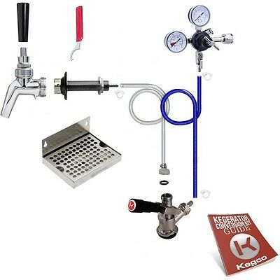 Kegco Kegerator Keg Tap Door Mount Conversion Kit All Stainless Steel Contact