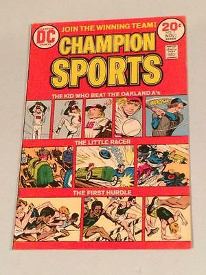 Champion Sports #1 FN/VF DC Comics 1970's