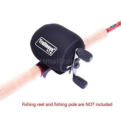 Casting Reel Case Protective Bait Casting Pouch Covers Left / Right Fishing Reel