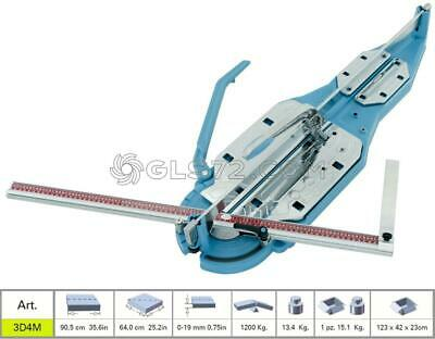 TILE CUTTER SIGMA 3D3M MACHINE MANUAL PROFESSIONAL CUTTING LENGHT 90,5 cm