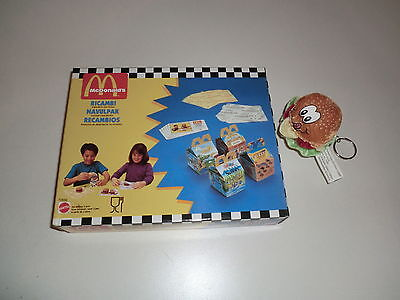 Mattel Vintage McDonald's Happy Meal 1994 Kids Playset Hamburger Nachfüllpackung