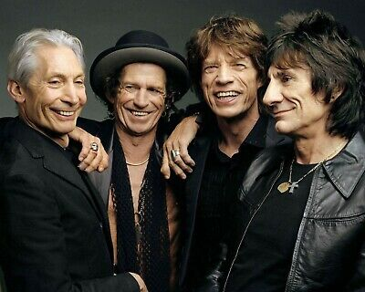 Rolling Stones, 8x10 Color Photo
