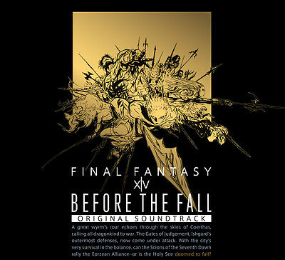 Before the Fall : FINAL FANTASY XIV Original Soundtrack Blu-ay Music disk Japan