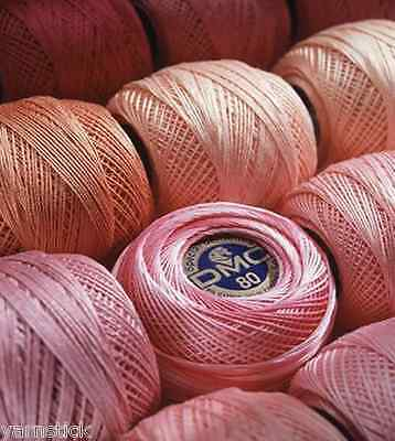 DMC SPECIAL DENTELLES #80 Crochet Cotton Lacing Tatting Thread