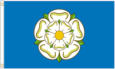 Yorkshire Rose County 5'x3' Flag
