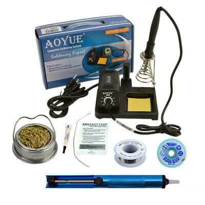 Aoyue 469 Kit  includes 60 Watt Soldering Station, Solder Wire, Flux and much mo