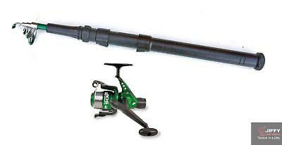 Lineaeffe drago 7ft telescopic Spinning Rod & Sol Reel + line