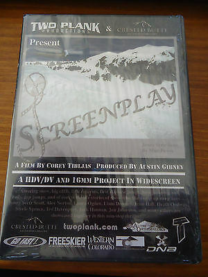 Ski Snow Dvd Screenplay Presented By Two Plank Productions Brand New Sealed