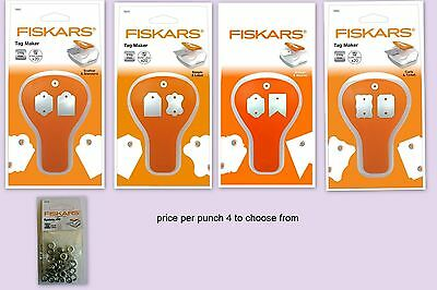 fiskars duo Tag maker hole punch & eyelet setter  price per punch