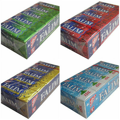 FALIM SUGAR FREE TURKISH CHEWING GUM 100 PCS SUGARLESS FREE POST (5x20)