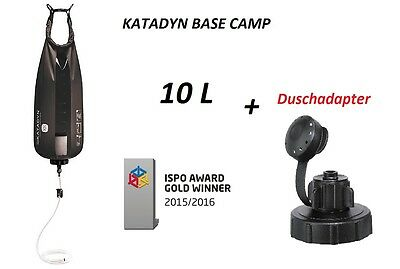 Katadyn Base Camp Pro 10L + Duschadapter Katadyn 27140 NEU  Outdoor Filter WOW