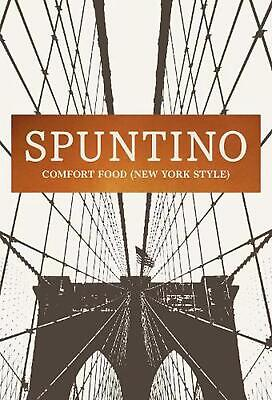 Spuntino: Comfort Food (New York Style) by Russell Norman (English) Hardcover Bo