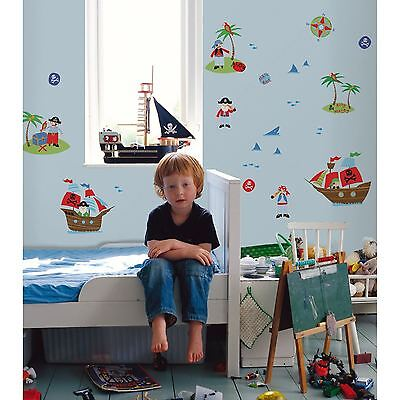 Pirates 24 Wall Stickers New Room Decor Boys