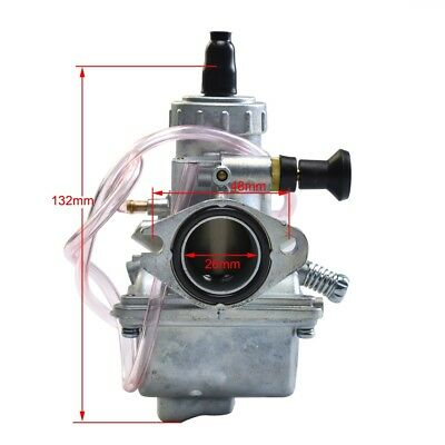 High Performance 26Mm Carburetor Carb 125Cc Racing Carby Dirt Bike Pit 150Cc Ma