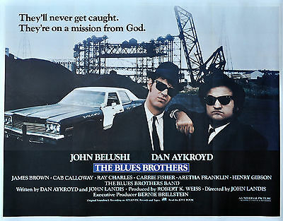"""""""BLUES BROTHERS""""..John Belushi Dan Akroyd.. Classic Movie Poster A1A2A3A4 Sizes"""