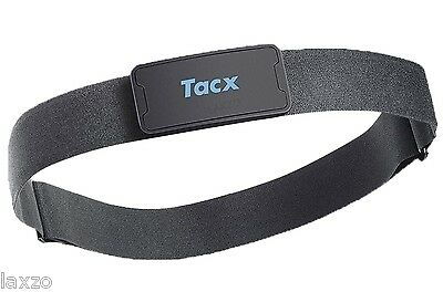 Tacx T1994 -  Heart Rate Belt Black - Chest Strap - with Smart Bluetooth /ANT+
