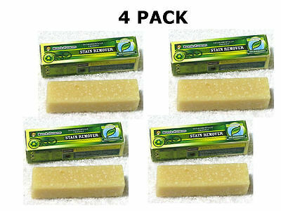 Buncha Farmers All Natural STAIN REMOVER Cleans Clothes Carpets & More -4 STICKS