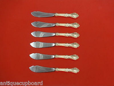 King Edward by Gorham Sterling Silver Trout Knife Set 6pc HHWS  Custom Made