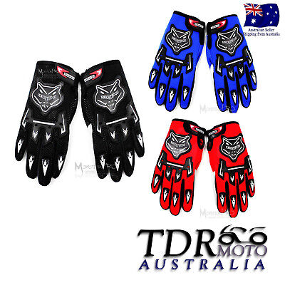 2017 New Mx Racing Dirt Race Motocross Dirt Pit Bike Mx Atv Riding Adult Gloves