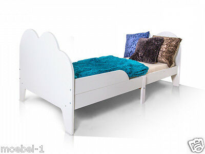 wei es bett kinderbett 90x190 wolke gr enverstellbar. Black Bedroom Furniture Sets. Home Design Ideas