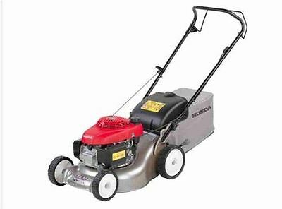 Honda Hrg416 Pk Rotary Petrol Lawnmower Four Wheeled Push