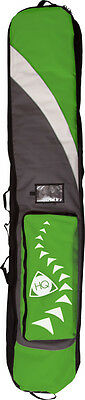 HQ Kitebag,Kite bag Pro Line 66.9in,green with Back pack carrying system,Inside