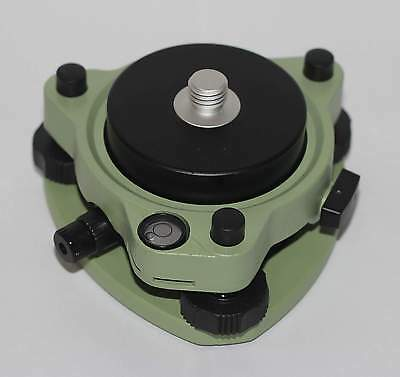 "NEW Tribrach w/Optical Plummet & Rotating Adapter 5/8""x11 Mount for GPS PRISM"
