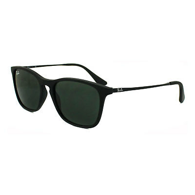 Ray-Ban Junior Sunglasses Chris Junior 9061 700571 Rubber Black Green