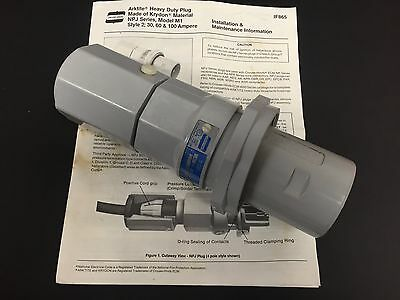 Crouse-Hinds Arktite Heavy Duty Plug NJP6484