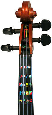 Learn how  to play HALF (1/2) size violin with Fretless Finger Guides