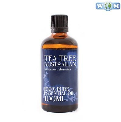Tea Tree Australian Essential Oil 100ml 100% Pure (EO100TEATREEAUST)