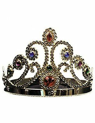 Gold Adjustable King and Queen Crown