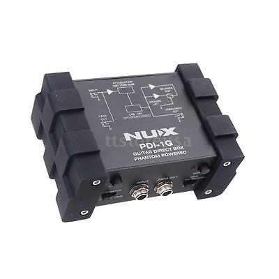 Durable Bass Guitar DI Direct Injection Audio Box Low Noise by NUX PDI-1G 4R0P