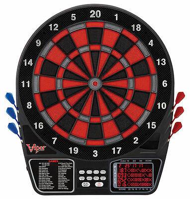 NEW Viper 797 Electronic Soft Tip Dartboard LCD Display