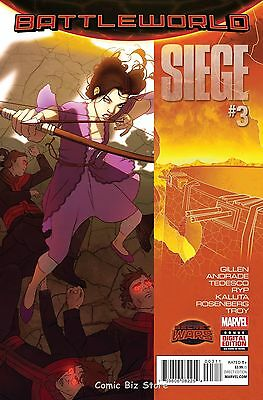 Siege #3 (2015) 1St Printing Bagged & Boarded Secret Wars Tie-In