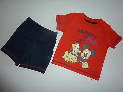 """DISNEY Really Cute MICKEY MOUSE and PLUTO """"Best Friends"""" 2 Piece Set NWT"""