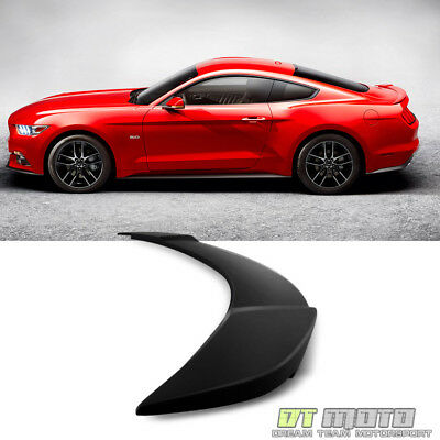 2015-2017 Ford Mustang GT Factory Style Black Rear Trunk ABS Spoiler Unpainted