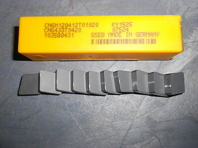 Kennametal CNGN120412T01020 CNG433T0420 KY1525 Kendex Ceramic Turning Inserts