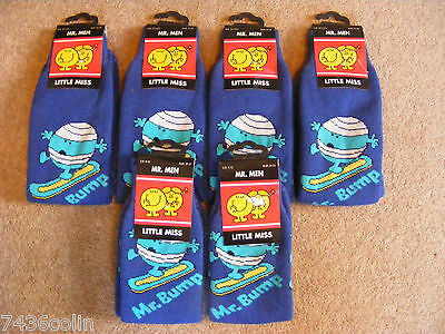 Job lot of 6 Pairs of Mr Bump Children's Winter Socks, BNIP, RRP £8.95 per Pair