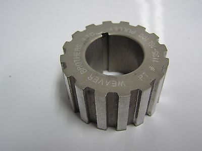 16 Tooth Gilmer Dry Sump Drive Pulley Moroso Street Nascar Race Drag 081015-37