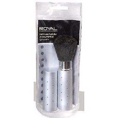 Royal Powder Retractable Brush Silver Diamonte