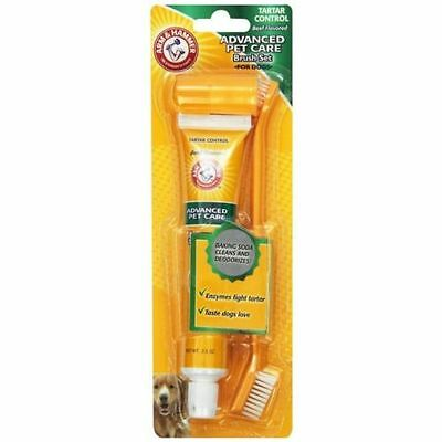 Arm & Hammer Dog Advanced Dental Care Toothbrush, Toothpaste Set