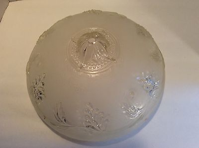 Vintage Round Glass Ceiling Light Diffuser