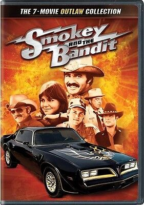 Smokey and the Bandit: The 7-Movie Outlaw Collection (2011, REGION 1 DVD New) WS