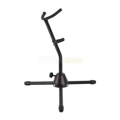 New Alto/Tenor Saxophone Sax Stand Foam Padded Prevents Damage
