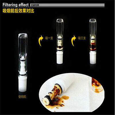 FD1294 Super Cleaning Reusable Reduce Tar Smoke Tobacco Filter Cigarette 2pcs