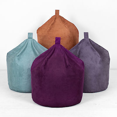 Faux Suede XL Extra Large Chair Seat Beanbag Bean Bag With Filling
