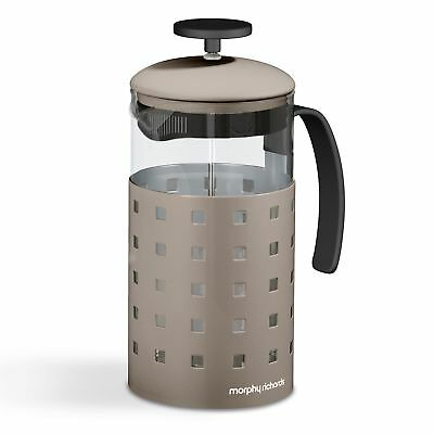 Morphy Richards 1000ml 8 Cup Cafetieres Tea Coffee Maker French Press Barley New